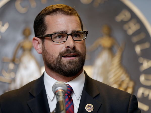 Pa. State Rep. Brian Sims of Philadelphia, seen in an earlier photo, says he will cosponsor a bill to legalize same-sex marriage in the state. (File photo)