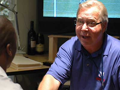 Ron Jaworski recently talked about the different energy level with the Birds this offseason. (James Heaney / Staff file photo)