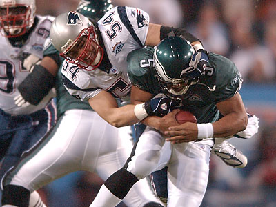 Donovan McNabb was one of the last players from the 2004 NFC Champions to leave the Eagles. (Jessica Griffin/Staff file photo)