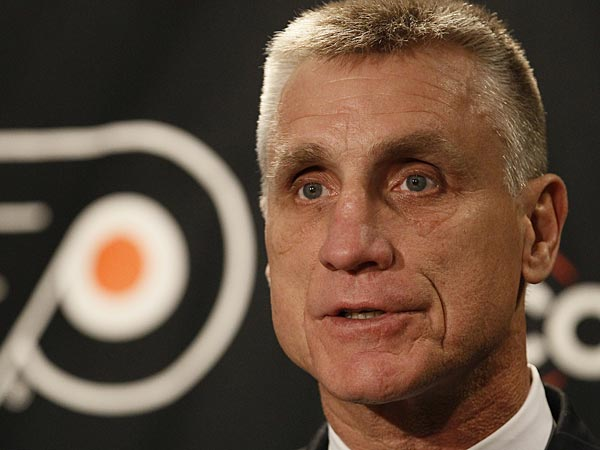 Flyers general manager Paul Holmgren. (Matt Slocum/AP file photo)