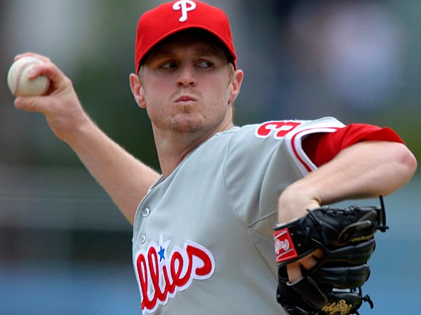 Kyle Kendrick does not have a concussion and will be able to make his scheduled start Saturday against the Braves. (Mark J. Terrill/AP)