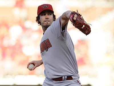 Diamondbacks starter Dan Haren is currently 7-6 with a 4.56 ERA. (AP Photo / Tom Gannam)