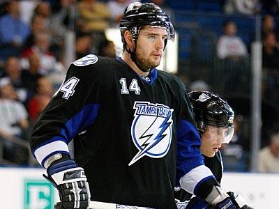 The Flyers have traded for Tampa Bay defenseman Andrej Meszaros. (AP Photo / Chris O´Meara)