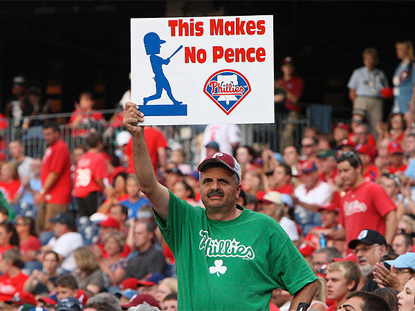 The Hunter Pence trade continues to sting the Phillies. (Steven M. Falk/Staff file photo)