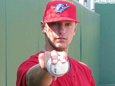 Jarred Cosart, a right-handed pitcher for Clearwater was ranked 43rd in a list of the league's top 50 prospects