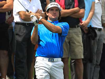 Bubba Watson, who played in the AT&T National last year, chose to play in the French Open this year. (Bob Edme/AP)