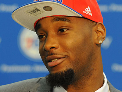 Sixers rookie Arnett Moultrie will still travel with the team to Orlando. (Clem Murray/Staff Photographer)