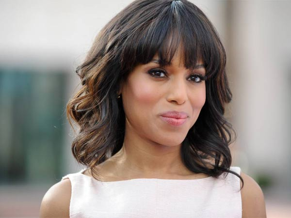 FILE - This May 16, 2013 photo shows actress Kerry Washington at the Academy of Television Art and Sciences´ event in North Hollywood, Calif. Washington married professional football player Nnamdi Asomugha last week in Idaho. E! was the first to report the nuptials Wednesday, July 3, and posted a copy of the couple's marriage license online.  The 36-year-old actress and 31-year-old athlete were married on June 24 in Hailey, Idaho. (Photo by Richard Shotwell/Invision/AP, File)