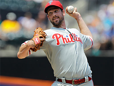 Cliff Lee has been placed on waivers, meaning he could be traded. (AP Photo / Kathy Willens)