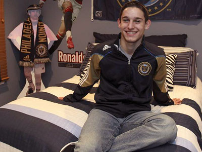 The Union made Zach Pfeffer their first ever homegrown player two years ago. (Joseph Kaczmarek/For the Daily News)