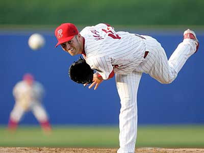 The Phillies will have to make a roster move or send J.A. Happ to the minors when he comes off the disabled list. (David Swanson / Staff Photographer)