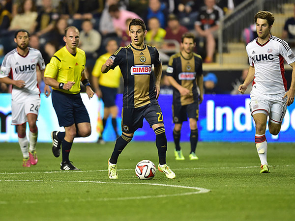 Zach Pfeffer. (Photo courtesy of the Philadelphia Union)