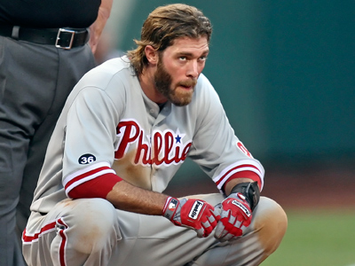 The Phillies´ outfielder Jayson Werth will be a free agent at the end of the season. (Steven M. Falk / Staff Photographer)