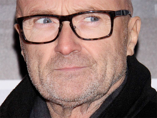 Phil Collins at the opening night for Broadway´s ´Beautiful: The Carole King Musical,´ at the Stephen Sondheim Theatre. (Joseph Marzullo/WENN.com)