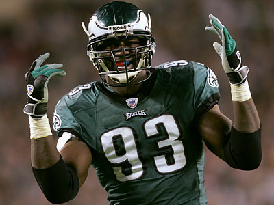 Former Eagle defensive end Jevon Kearse. (File photo)