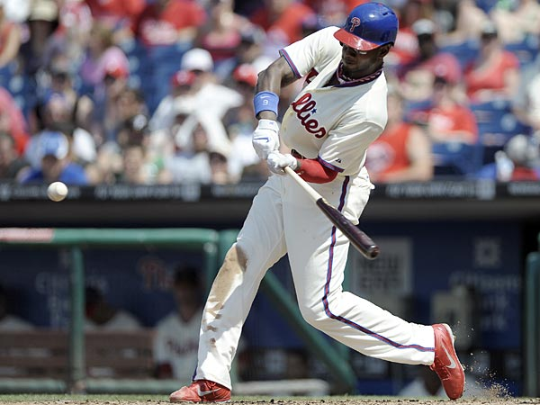 Phillies outfielder Domonic Brown. (Michael Perez/AP)