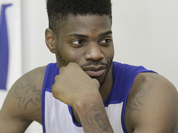 76ers center Nerlens Noel. (Akira Suwa/Staff Photographer)
