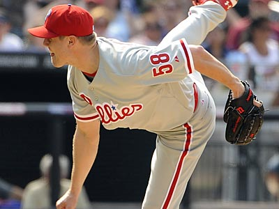 Every Phillies bullpen arm not named Jonathan Papelbon has combined for a 5.08 ERA. (Kathy Kmonicek/AP)