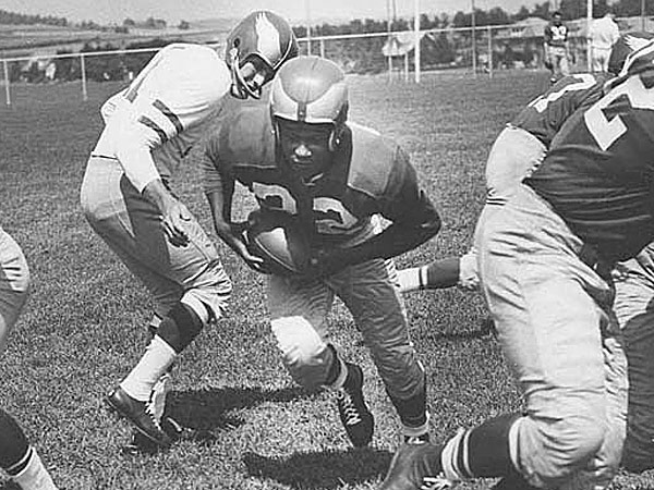 Ralph Goldston scored three touchdowns as an Eagles rookie. (Staff file photo)