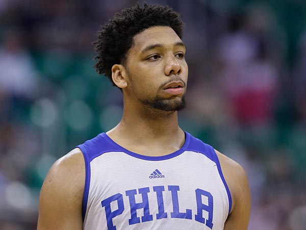 Okafor in a funk at the foul line - Philly