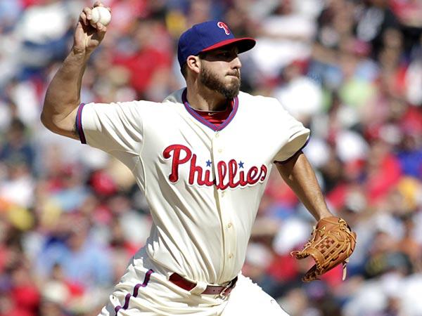 Philadelphia Phillies pitcher Phillippe Aumont. (H. Rumph Jr/AP)