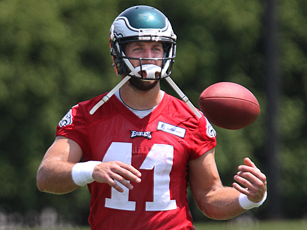 Eagles quarterback Tim Tebow. (Michael Bryant/Staff Photographer)