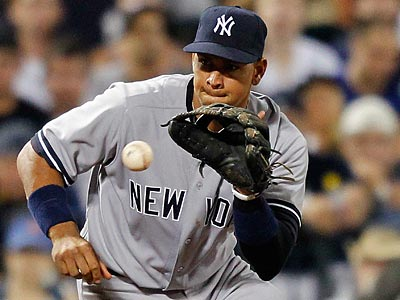Alex Rodriguez will miss four to six weeks to have surgery on his right knee. (Paul J. Bereswill/AP)