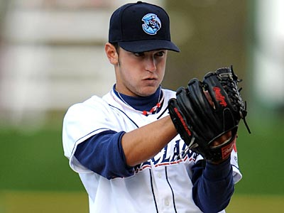Jared Cosart struck out two batters and earned the win in Sunday´s Futures Game. (David M. Schofield /Lakewood BlueClaws)