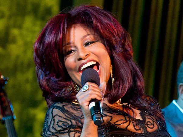 Chaka Khan performs during the International Jazz Day Concert held at the United Nations General Assembly Hall in New York, Monday, April 30, 2012. (AP Photo/Charles Sykes)