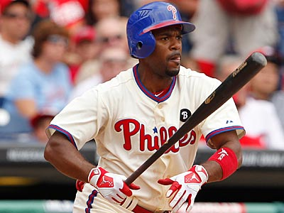 Jimmy Rollins is back in the lineup for Sunday´s game against the Mets. (Ron Cortes/Staff Photographer)