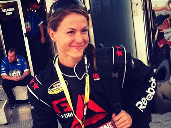 NASCAR pit crew member Christmas Abbott. (Facebook)