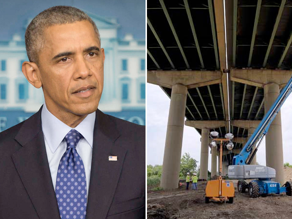 President Barack Obama will reportedly visit the damaged I-495 bridge in Delaware next week as part of an ongoing push to stress the importance of investing in transportation infrastructure.
