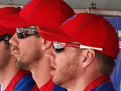 Cliff Lee and Roy Halladay will each start a game on Saturday. (Gene J. Puskar/AP file photo)