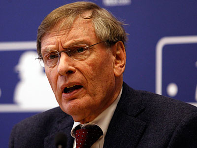 MLB commissioner Bud Selig lauded putting home-field advantage in the World Series at stake in the All-Star Game. (Frank Franklin II/AP Photo)
