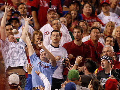 Fan presence hasn´t helped the Phillies win at Citizens Bank Park this season. (Ron Cortes/Staff Photographer)