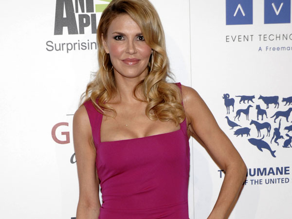 Brandi Glanville arrives at The 26th Annual Genesis Awards benefiting The Humane Society in Beverly Hills, Calif. on Saturday, March 24, 2012. (AP Photo/Dan Steinberg)