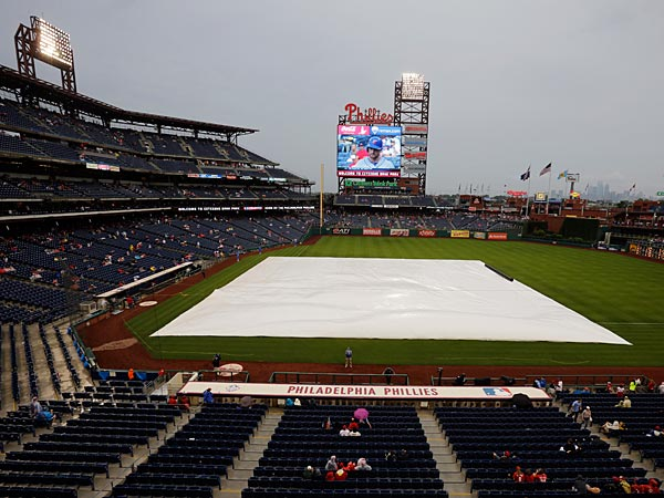The Phillies will not play tonight. (AP Photo/Matt Slocum)
