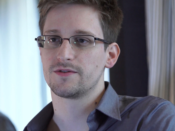 Edward Snowden, wanted by federal law-enforcement for leaking classified information, is the source of a document showing the CIA is worried about being infiltrated by terrorists, according to the Washington Post. (AP Photo / The Guardian, Glenn Greenwald and Laura Poitras)