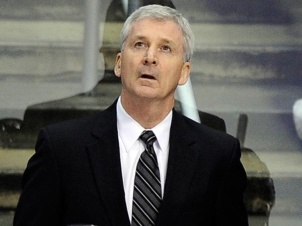 Adirondack Phantoms head coach Terry Murray.(AP Photo/Mark J. Terrill)