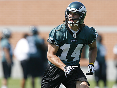 The Eagles have reached a four-year deal with fifth-round draft pick Riley Cooper. (AP Photo/Brian Garfinkel)