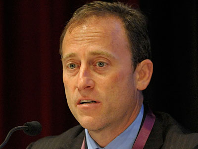 Joshua Harris graduated from Penn´s Wharton School of Business. (Peter Foley / Bloomberg)