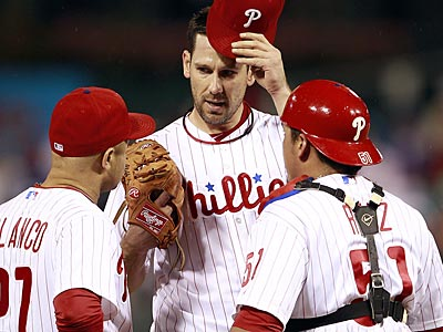 Cliff Lee´s name is being mentioned in serious trade talks. (Yong Kim/Staff Photographer)