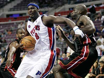 In 11 pro seasons, Kwame Brown averaged 6.8 points and 5.6 rebounds per game. (AP Photo)