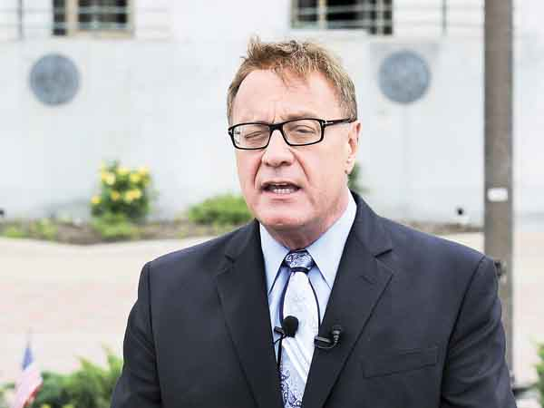 Republican Steve Lonegan. (Ron Tarver / Staff Photographer)