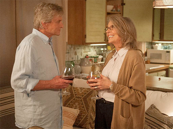 "Michael Douglas is Oren and Diane Keaton is Leah in ""And So It Goes."" (Clarius Entertainment)"