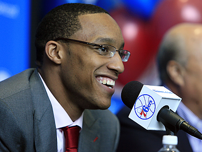 The 76ers have signed first-round draft choice Evan Turner. (Akira Suwa / Staff Photographer )