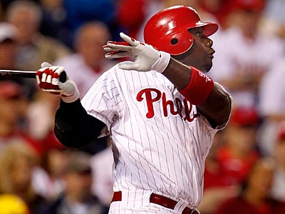 Ryan Howard has three career home runs off Tim Lincecum in 25 at-bats. (Ron Cortes/Staff Photographer)