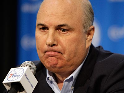 GM Ed Stefanski has been relieved of his duties, the new Sixers owners announced. (David Maialetti/Staff file photo)