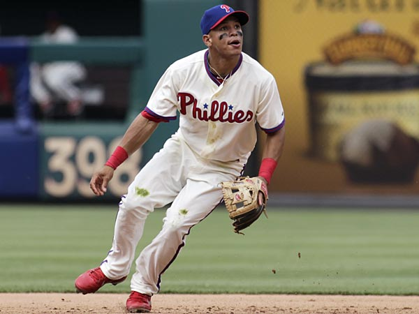 Philadelphia Phillies´ Cesar Hernandez. (H. Rumph Jr/AP)