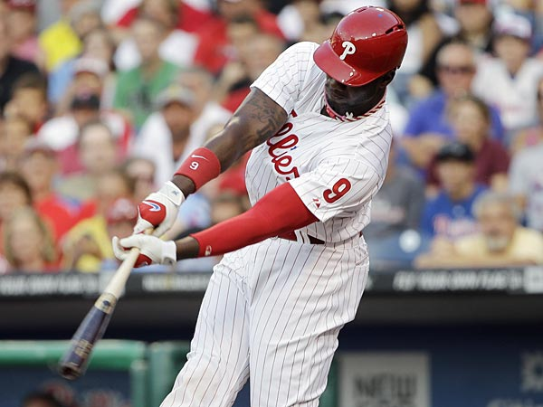 Phillies outfielder Domonic Brown. (Matt Slocum/AP)